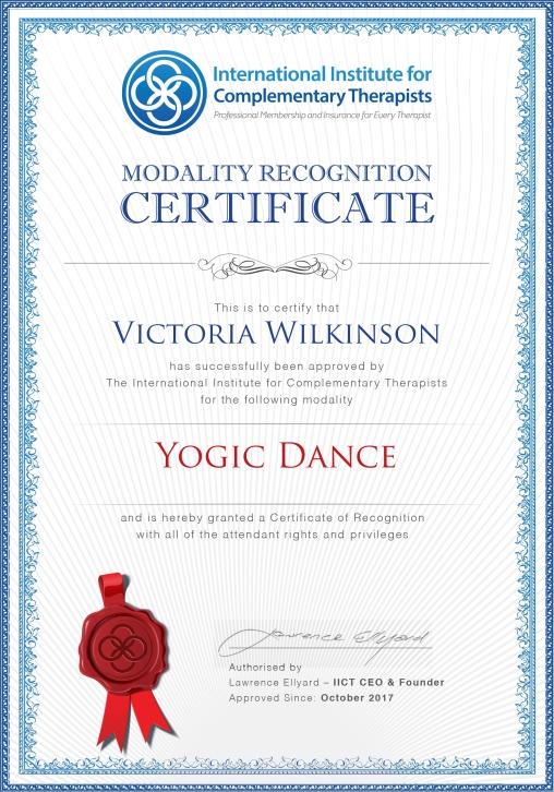 Mod Cert_ Yogic Dance