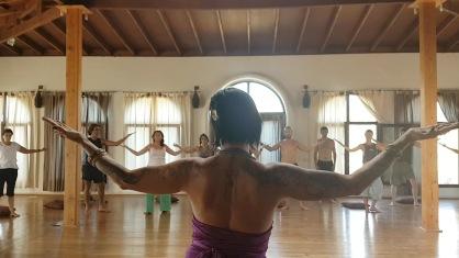 sacred dance oen arms