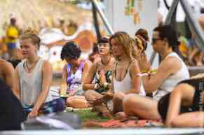 Benicassim, 2019-08-17. Yoga y Meditacion (Pachamama). Photo by: Patrick Albertini © Rototom Sunsplash 2019.
